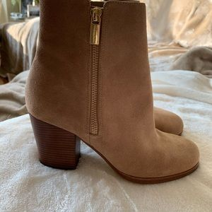 Michael Kors suede booties. Never worn.